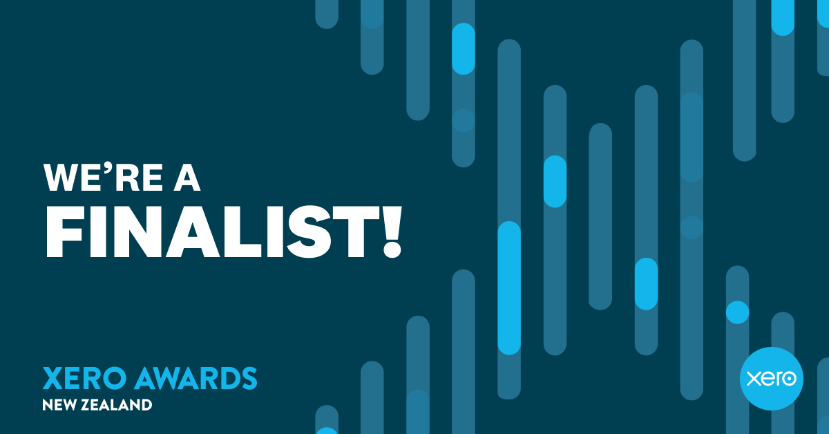Nominated for 2019 NZ Bookkeeping Partner of the Year!